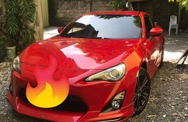 Selling Red Toyota 86 2013 at 22000 km in Pasig