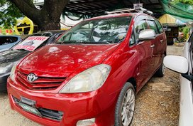 Red 2010 Toyota Innova Automatic Diesel at 70000 km for sale