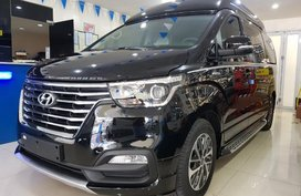 Selling Black Hyundai Grand Starex 2019 in Quezon City