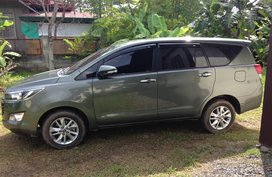 Sell Used 2017 Toyota Innova Manual Diesel at 17000 km