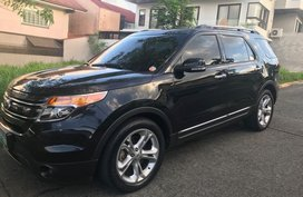 Selling Black Ford Explorer 2013 in Quezon City