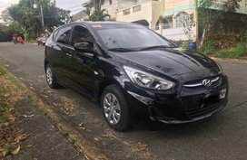 Black 2018 Hyundai Accent Hatchback for sale in Quezon City