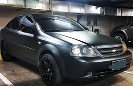 Black 2006 Chevrolet Optra at 99000 km for sale