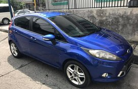 Blue 2012 Ford Fiesta Hatchback for sale in Makati