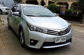 Sell Silver 2015 Toyota Corolla Altis Sedan Automatic Gasoline