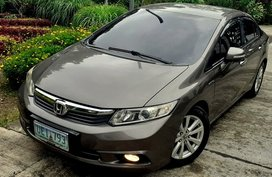 2012 Honda Civic at 78000 km for sale in Quezon