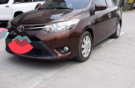 Brown Toyota Vios 2014 for sale in Lapu-Lapu