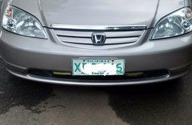 Selling Used Honda Civic 2002 Automatic in Quezon City