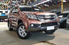 Used 2015 Isuzu Mu-X for sale in Quezon City