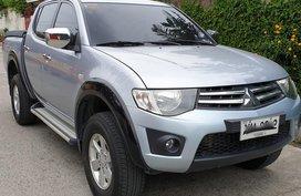 Silver 2014 Mitsubishi Strada Manual Diesel for sale in Quezon City