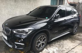 Black Bmw X1 2017 at 11000 km for sale in Pasig