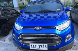 Blue Ford Ecosport 2014 Automatic at 36000 km for sale