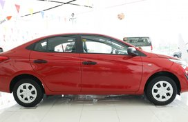 Sell 2019 Red Toyota Vios at 35K DP in Santa Rosa