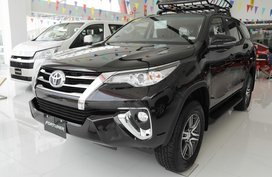 Brand New Black Toyota Fortuner 2019 at 60K DP in Santa Rosa