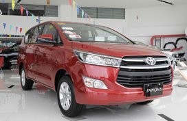 Brand New Red Toyota Innova 2019 MPV at 50K DP in Santa Rosa