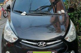 Black 2016 Hyundai Eon Hatchback for sale in Manila