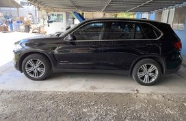 Selling Black Bmw X5 2015 at 34000 km in Cebu