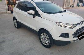 Selling White Ford Ecosport 2016 at 46000 km in Metro Manila