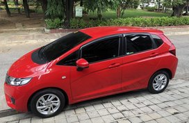 Red 2017 Honda Jazz at 22000 km for sale