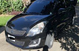 Sell Black 2016 Suzuki Swift Hatchback Automatic in Cebu City