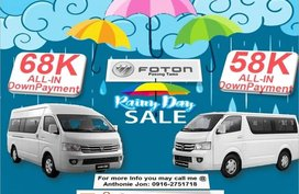 Foton View 2019 for sale in Makati