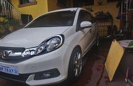 White Honda Mobilio 2015 for sale in Bataan