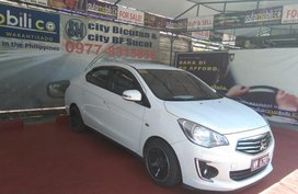 White Mitsubishi Mirage G4 2016 for sale in Parañaque
