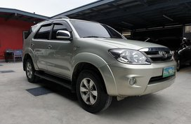 Selling Used Toyota Fortuner 2007 G Gasoline Automatic in Las Pinas
