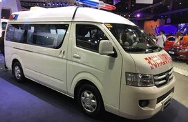Selling Brand New Foton Transvan HR Ambulance in Pasig
