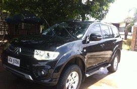 Black Mitsubishi Montero Sport 2014 Manual Diesel for sale