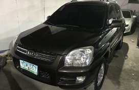 Brown 2008 Kia Sportage Diesel Automatic for sale in Cebu