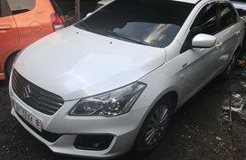 Selling White Suzuki Ciaz 2017 Sedan Manual in Cebu