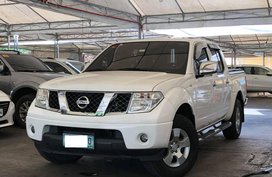 Sell White 2012 Nissan Navara Automatic Diesel in Makati