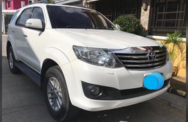 Selling 2nd Hand Toyota Fortuner 2012 Automatic Diesel