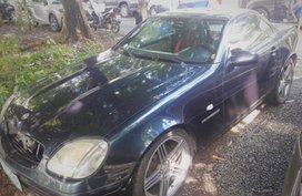 Blue 2000 Mercedes-Benz Slk-Class for sale in Quezon City
