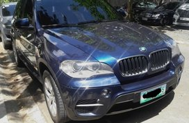 Blue 2011 Bmw X5 at 30000 km for sale in Quezon City