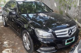 Black 2012 Mercedes-Benz C-Class Automatic Gasoline for sale