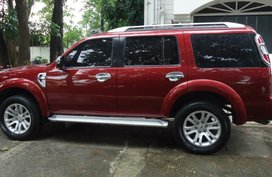 Red 2014 Ford Everest Manual Diesel for sale