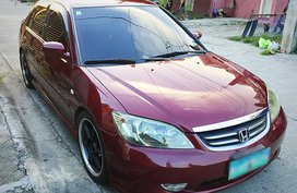 Selling Red Honda Civic 2004 Automatic in Angeles