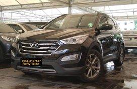 Black 2013 Hyundai Santa Fe at 66000 km for sale in Makati