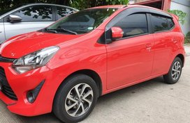 Red Toyota Wigo 2019 for sale in Quezon City