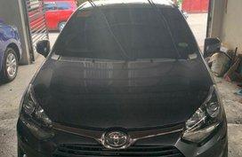 Gray Toyota Wigo 2017 Automatic for sale in Quezon City
