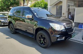 Black 2013 Chevrolet Trailblazer at 80000 km for sale in Las Pinas