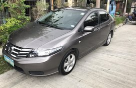 Selling Grey Honda City 2012 at 93000 km in Angeles