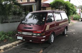 Selling Red Nissan Vanette 1994 at 120000 km