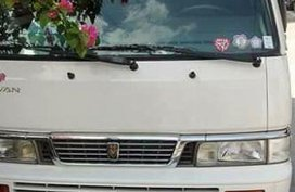 Sell White 2015 Nissan Urvan Van in Calamba