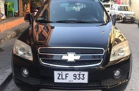 Selling Black Chevrolet Captiva 2008 Automatic Diesel in Leyte