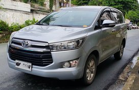 Silver 2017 Toyota Innova Automatic Diesel for sale
