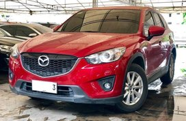 Sell Red 2014 Mazda Cx-5 Automatic Gasoline in Makati