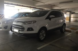 Selling White 2015 Ford Ecosport in Metro Manila